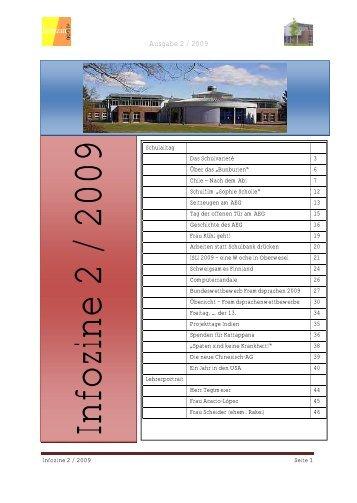 Ausgabe 2 / 2009 - Albert Einstein Gymnasium