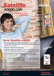 satellite A300D-13R - Toshiba