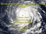 Richard Pasch: NHC's review (12/3) – remote