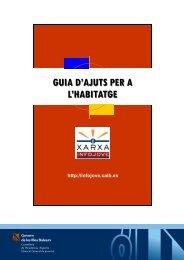 guia d'ajuts per a l'habitatge - Infojove - Govern de les Illes Balears