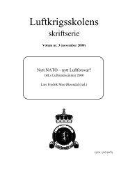 Luftkrigsskolens - Høgskolene i Forsvaret