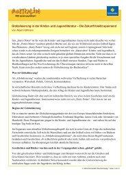 Globalisierung in der Kinder- und Jugendliteratur – Die ... - Antolin