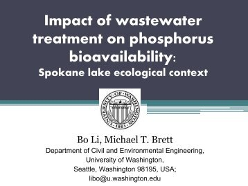 The Impact of Advanced Nutrient Removal on - pncwa