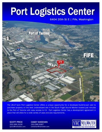 Port Logistics Center Brochure