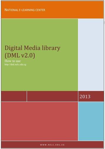 Digital Media library (DML v2.0)