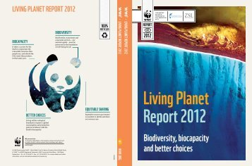 Biodiversity, biocapacity and better choices