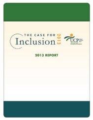 PDF of 2013 Report - United Cerebral Palsy