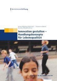Innovation gestalten - Bertelsmann Stiftung