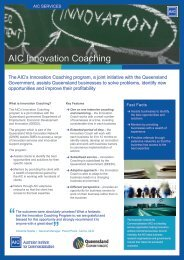 Page 1 Fast Facts The Australian Institute for Commercialisation ...