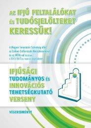 Végeredmény (PDF, 610 KB) - Magyar Innovációs Szövetség