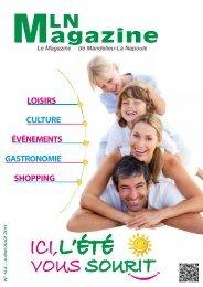 MLN Magazine de juillet 2011 - Mandelieu La Napoule