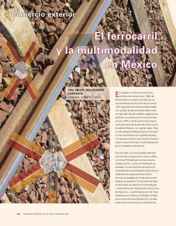 El ferrocarril y la multimodalidad en México - revista de comercio ...