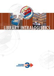GL Prosp library intralogistics AS - Gilgen Logistics AG