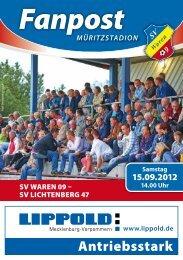 14.00 Uhr - SV Waren 09
