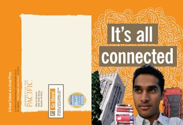 Its All Connected - University of the Pacific