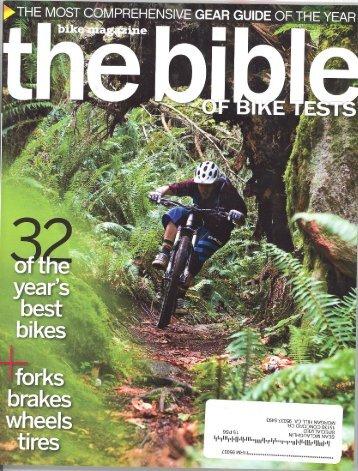 Bike Magazine - Specialized