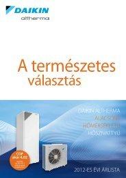Katalógus árlistával 2012 letöltés - Klíma-Coop Kft.