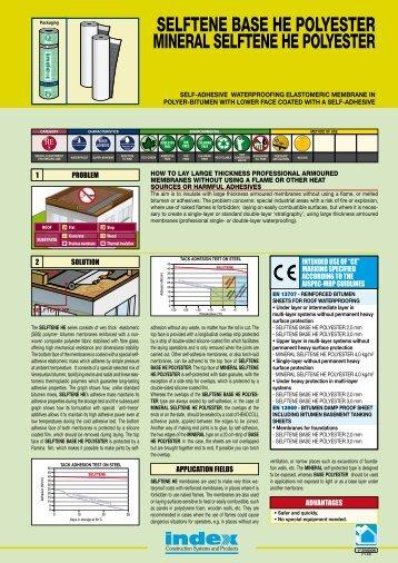 data sheet - Index S.p.A.