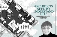 Yung Ho CHang reads to find out How arCHiteCture ... - vis visio