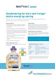 Isosource Junior SmartFlex - nestle nutrition