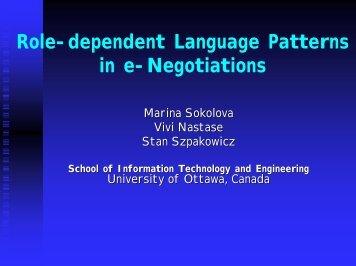 Presentation - InterNeg Research Centre