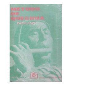 Método de Quechua: Runasimi - ILLA
