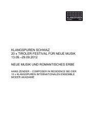 Presseunterlagen KLANGSPUREN FESTIVAL 2013 (pdf)
