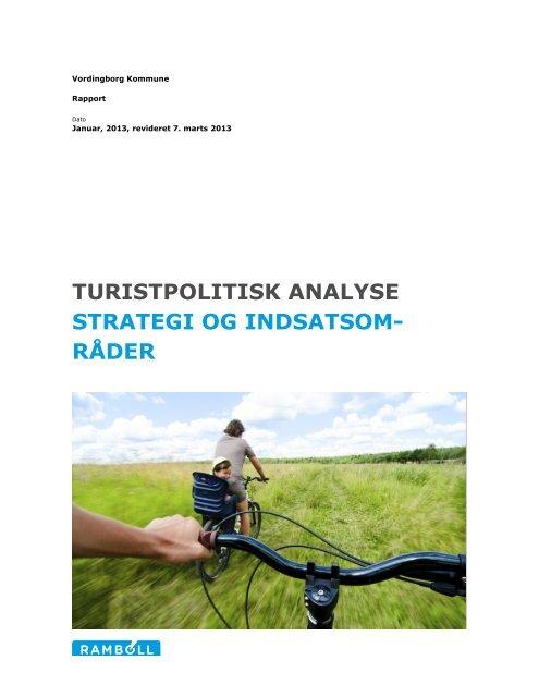 Turistpolitisk analyse, strategi og indsatsområder - Vordingborg ...