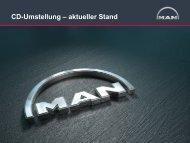 CD-Umstellung – aktueller Stand - MAN Brand Portal