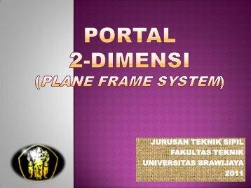 portal 2 dimensi - Universitas Brawijaya