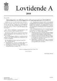 Bekendtgørelse om offentliggørelse af ... - Erhvervsstyrelsen