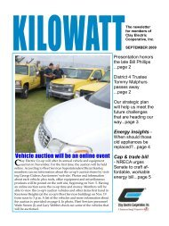 Vehicle auction will be an online event - Clay Electric Co-op