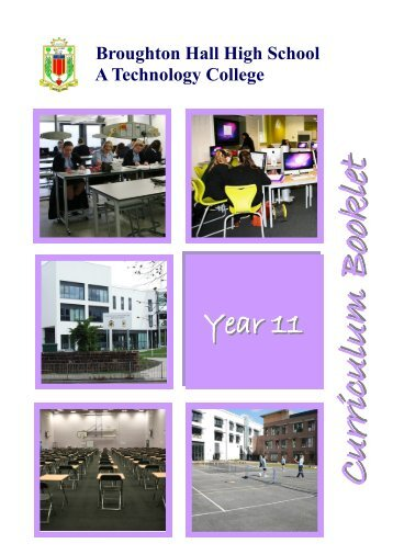 YEAR 11 - Broughton Hall High School