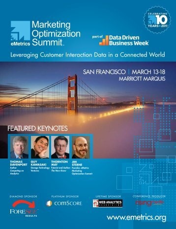 Leveraging Customer Interaction Data in a ... - eMetrics Summit