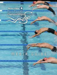 Quick Facts - USA Swimming