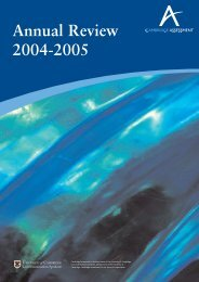 Annual Review 2004-2005 - Cambridge Assessment