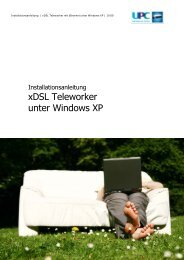 xDSL Teleworker unter Windows XP - inode.at