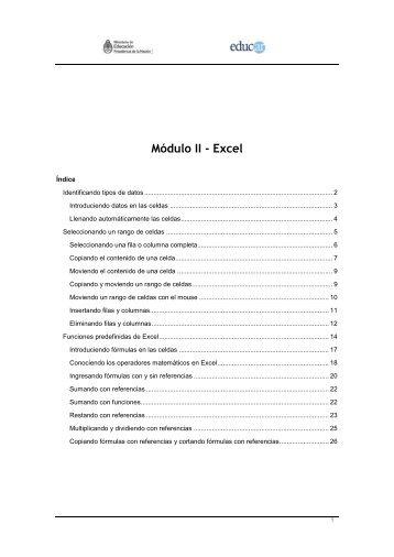 Módulo 2 - Escritorio Familias