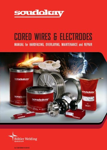 CORED WIRES & ELECTRODES