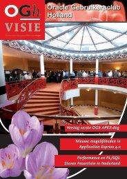 OGh Visie 2010 Voorjaar - Oracle Gebruikersclub Holland