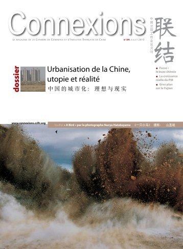 Urbanisation de la Chine, utopie et réalité d o ssier - ccifc