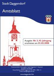 Nr. 3 vom 01.02.2008 - Deggendorf