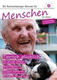 2. Sonderausgabe der Hauszeitschrift - Die Rummelsberger Dienste ...