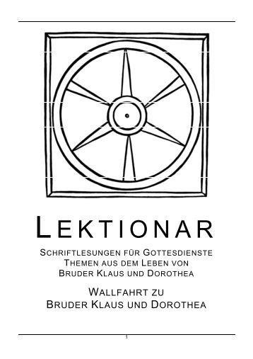 LEKTIONAR - Bruder Klaus