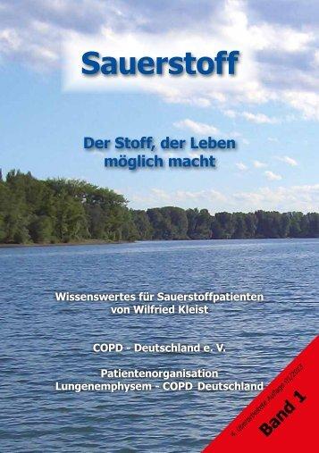 Sauerstoff - COPD - Deutschland eV