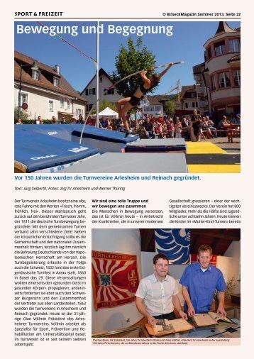 Bewegung und Begegnung - Birseck Magazin