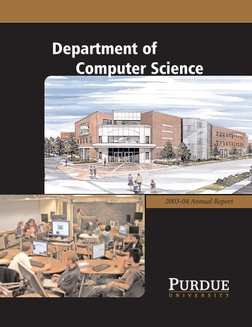 CS 2003-2004 Faculty Information - Department of Computer ...