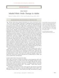 Inhaled Nitric Oxide Therapy in Adults - RT Journal On-Line