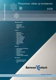 Klimasystemer, verktøy og montasjeutstyr 2008 - Børresen Cooltech ...