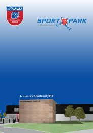 Flyer August 2012 [PDF | 1517 KB] - SV-Winnenden 1848 eV